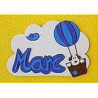 Nombres personalizados niñ@s de pared. Decoración infantil original.