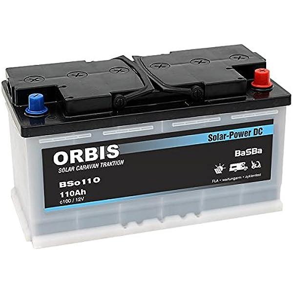 Versorgungsbatterie Solarbatterie Bso 110 12 Volt 110 Ah C100 Elektronik