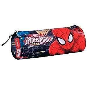 Spiderman – Spiderman – Estuche portatodo en Forma de Tubo (Montichelvo MC-54299) (Montichelvo 54299)