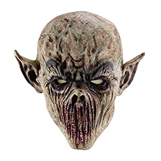 XIYAO Halloween Horror Mask-Cosplay Demon Face Mask, Latex mask for Halloween/Cosplay Costume Party/Easter Mask