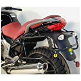 Hepco&Becker - Soporte En Negro De Maletas Laterales Para Moto Guzzi Breva V 850 / 1100 / 1200 / Norge 1200