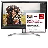 LG 27UK600-W - 69 cm (27 Zoll), LED, IPS Panel, 4K-UHD-Auflösung, AMD FreeSync, HDR 10, HDMI, DisplayPort