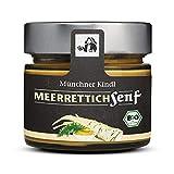 Münchner Kindl Senf Bio Meerrettichsenf, 180 ml