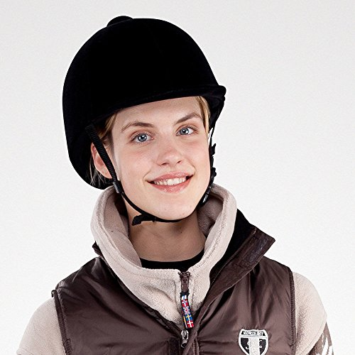 Horze InCase Velvet Riding Hat