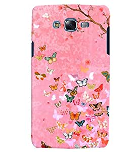 Citydreamz Butterflies/Nature/Beautiful Print Hard Polycarbonate Designer Back Case Cover For Samsung Galaxy A5