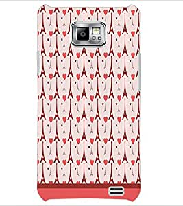 PrintDhaba Tower Pattern D-1798 Back Case Cover for SAMSUNG GALAXY S2 (Multi-Coloured)