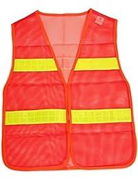 BRUBAKER Sicherheitsweste Arbeitssicherheit DIN EN471 Orange