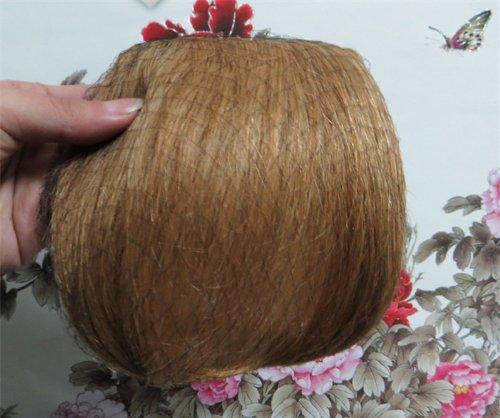 20,3 cm couleur : Fraise Blond (# 27) cheveux humains véritables cheveux Fashion avant Neat Bang franges One cheveux