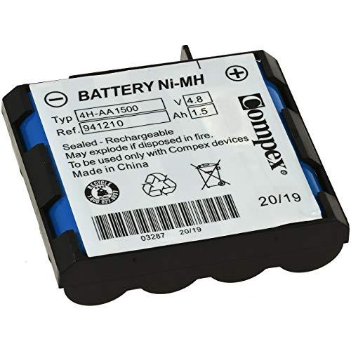 Compex 941210 batteria standard ni-mh, 4h-aa 1500 a 4 cellule, blu