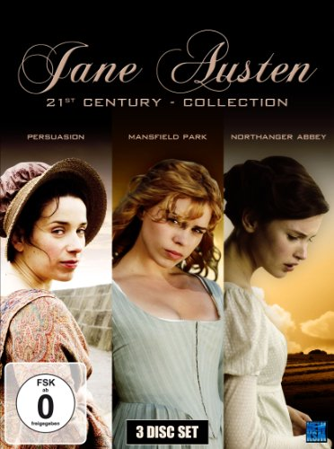 Jane Austen 21st Century Collection (Northanger Abbey, Mansfield Park, Persuasion) (3 DVDs)