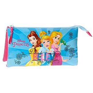 Princesas Disney – Neceser estuche portatodo tres compartimentos (Joumma 4084361)