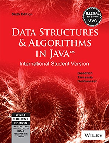 Data Structures & Algorithms in Java, 6ed, ISV (WSE)