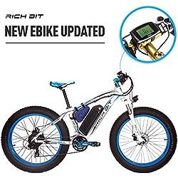 20a207e4e2a RICH BIT Rt-022 E-Bike electric bike 26 inch 4.0 Fat tire mountain