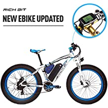 RICH BIT Rt-022 E-Bike bicicleta de eléctrica 26 pulgadas 4.0 Fat tire