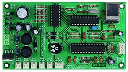 HQ-Kits & Component sets 840521 Velleman 1-Kanal-Schrittmotorkarte, Bausatz, K8096