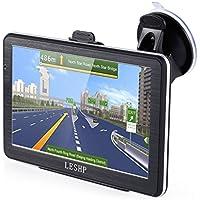 GPS Voiture Auto Europe 7 Pouces - 8G - Quand-core - Ecran Tactile - GPS Automobile - Cartes d'Europe