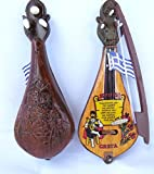 Hermes Hellas Lyra: Cretan Music Instrument/Miniature with wind up music/Lyra: Kretisches Musikinstrument/Miniatur Mit wickeln musik