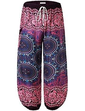 BAISHENGGT Pantalón - Harem - para Mujer