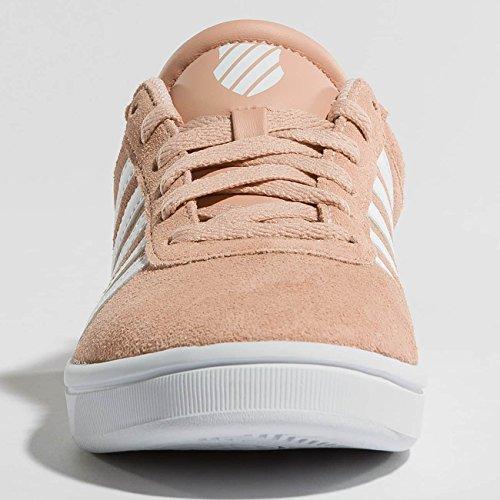 K-swiss Court Cheswick Sde, Baskets Pour Femmes Rose Pâle