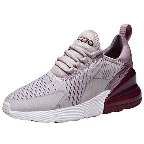 AIRAVATA Femme Mode Chaussures de Sports Course Fitness Gym athlétique Multisports Outdoor Casual Baskets