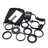 Meike MK-14EXT Macro TTL ring flash for Canon E-TTL TTL with LED AF assist lamp