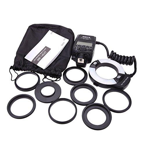 Mcoplus 14EXTC Ringblitz Makro für Canon schwarz