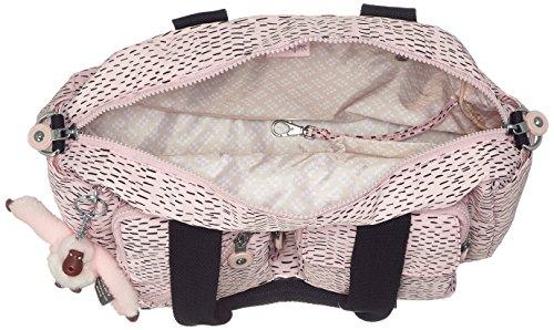 Kipling Defea, Borsa con Maniglia Donna, One Size Rosa (Soft Pink Str)