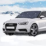Parsion Windschutzscheibenabdeckung Scheibenabdeckung Winter Schneeabdeckung Auto Windschutzscheibenabdeckung Winter Scheibenschutz Auto