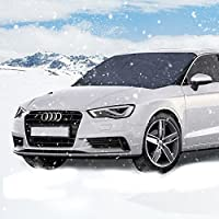 protector para parabrisas, Parsion protector de parabrisas coche Antihielo y Nieve proteja bien el parabrisas del vehículode la escarcha y la nieve en invierno