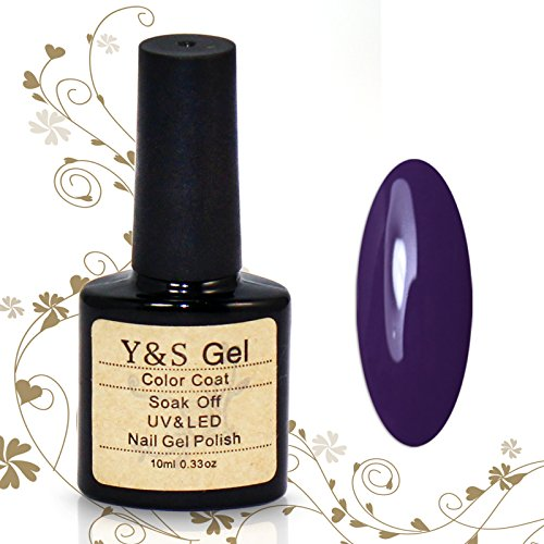 Perfect Summer 10ml Vernis à Ongles Semi-Permanent UV LED Soak Off Nail Art Manucure Bleu Violet 10029