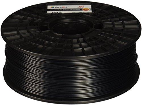 Colido col3d-lfd001b 3d-gold ABS Filament, 1,75mm, 1kg, schwarz (Filamento Abs)