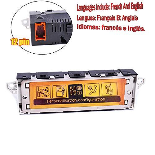 Amzparts - Pantalla multifunción para coche RD4, color amarillo, CD cambiador, radio,...