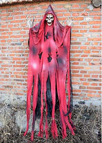 Halloween Ghost Requisiten Zimmer Escape Dekoration Haunted Haus Pendant Bar Arrangement Scary Horror Großen Hängenden Geist (Mehrere Optional),1