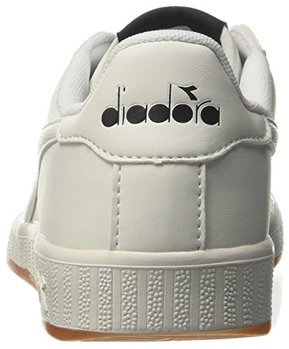Diadora Game P, Sneaker a Collo Basso Unisex – Adulto Bianco