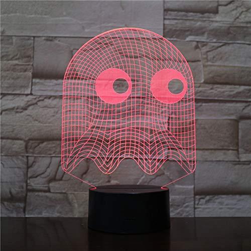 Nachtlicht Led 3D Schlafzimmer Dekorative Lampe Illusion Kind Kinder Baby Kit Blinky Lamp Table ()
