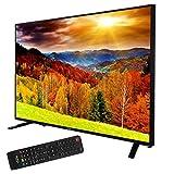 Xoro HTC 3248 81 cm (32 Zoll) LED Fernseher mit integriertem DVD Player und HD Triple Tuner (DVB-S2/T2/C), H.265/HEVC-Decoder, PVR Ready, Timeshift, HD Mediaplayer und CI+ Schacht