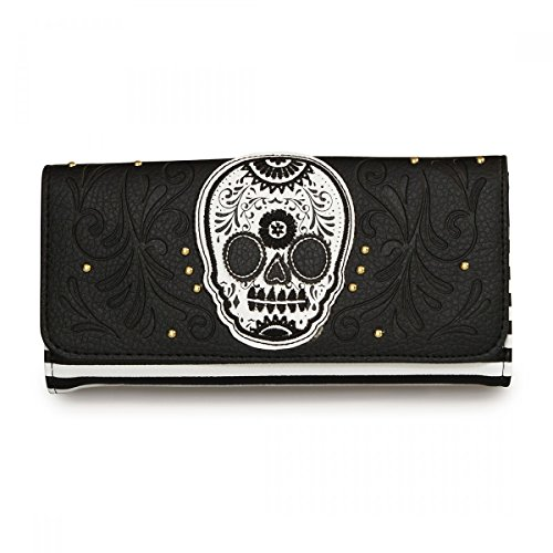 rockabilly-loungefly-portefeuille-motif-cute-sugar-skull-noir
