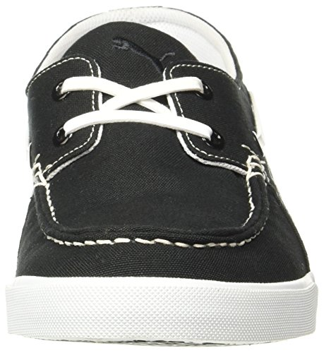 73dc39bae676 ... Puma Men s Ferry Idp Black White Boat Shoes - 8 UK India (42 EU ...