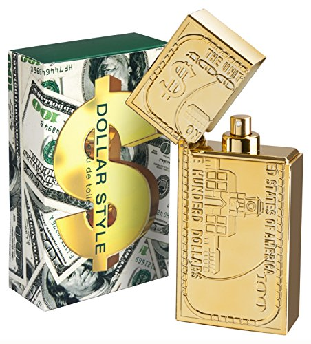 Concept V Design, Dollar Style, Eau de Toilette spray da uomo, 100 ml