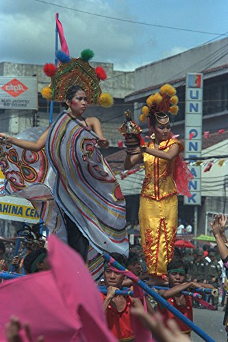 493016 Sinulog Mardi Gras Cebu City Philippines A4 Photo Poster Print 10x8