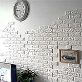 Kebidu 2016 NEW White 3D Modern Design Brick Wallpaper Roll Vinyl Wall Covering Wall Paper Living Room Dinning Room Store Background