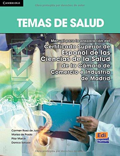 Temas de salud: 1 (Espanol fines especificos/ Spanish Specific Purposes) par Marisa de Prada Segovia