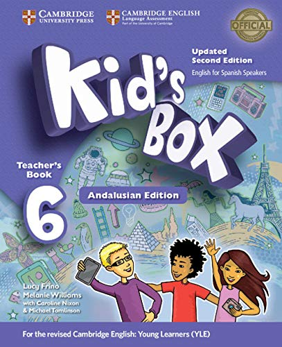 Kid's Box Level 6 Teacher's Book Updated English for Spanish Speakers Second Edition - 9788490363577