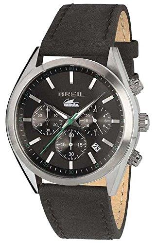 Breil orologio cronografo quarzo uomo con cinturino in pelle tw1608