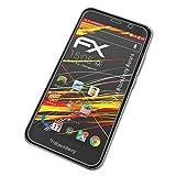 atFolix Schutzfolie kompatibel mit BlackBerry Aurora Bildschirmschutzfolie, HD-Entspiegelung FX Folie (3X)