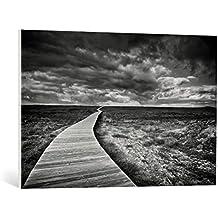 """Cuadro en lienzo: Santiago Pascual Buyé """"The Way"""" - Impresión artística de alta calidad, lienzo en bastidor, 90x60 cm"""