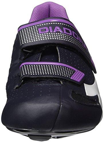 Diadora Phantom Ii W, Scarpe da Ciclismo Donna Multicolore (Multicolore (DK smoke/white/vilet orchid iris6040))