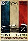 Monte Carlo Monaco grand prix grosser preis 2014 schild aus blech, metal sign, tin sign