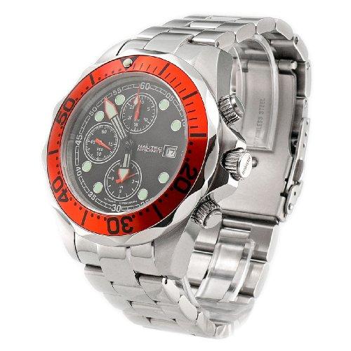 Image of Nautec No Limit Gents Watch Deep Sea Chronograph Ds 8850/Stor