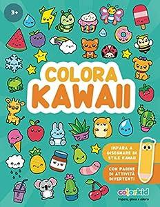 Colora Kawaii: Colora, gioca e